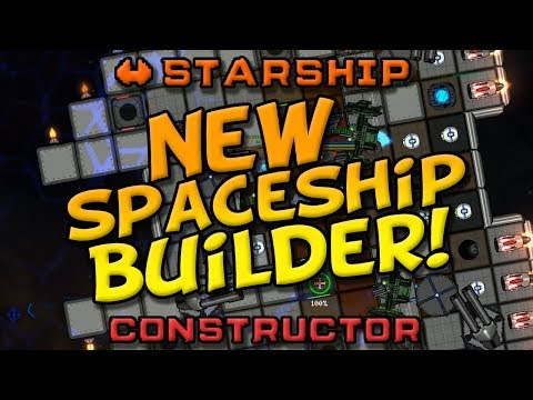 🚀🔨Starship Constructor - NEW SPACESHIP BUILDER! Build, mine,