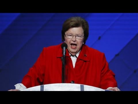 Sen. Barbara Mikulski: 'It's Time to Suit Up'