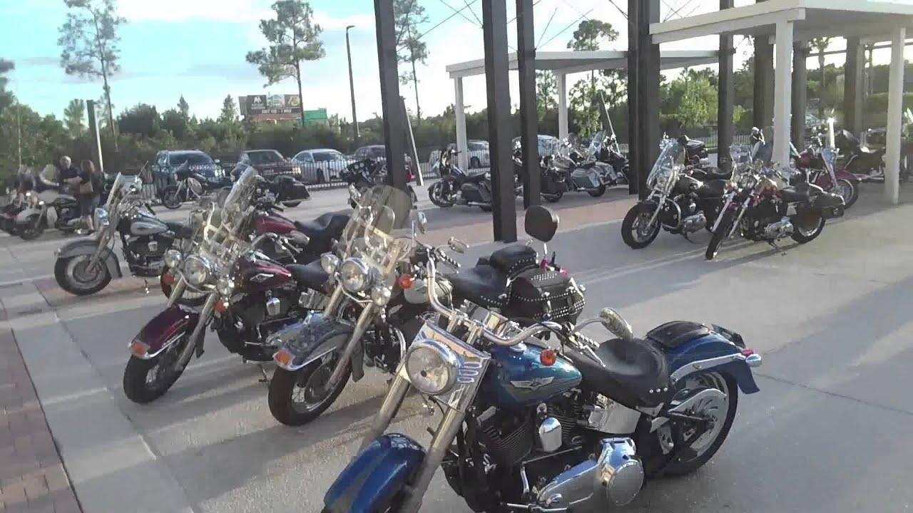 inside six bends harley-davidson dealership - fort myers, florida