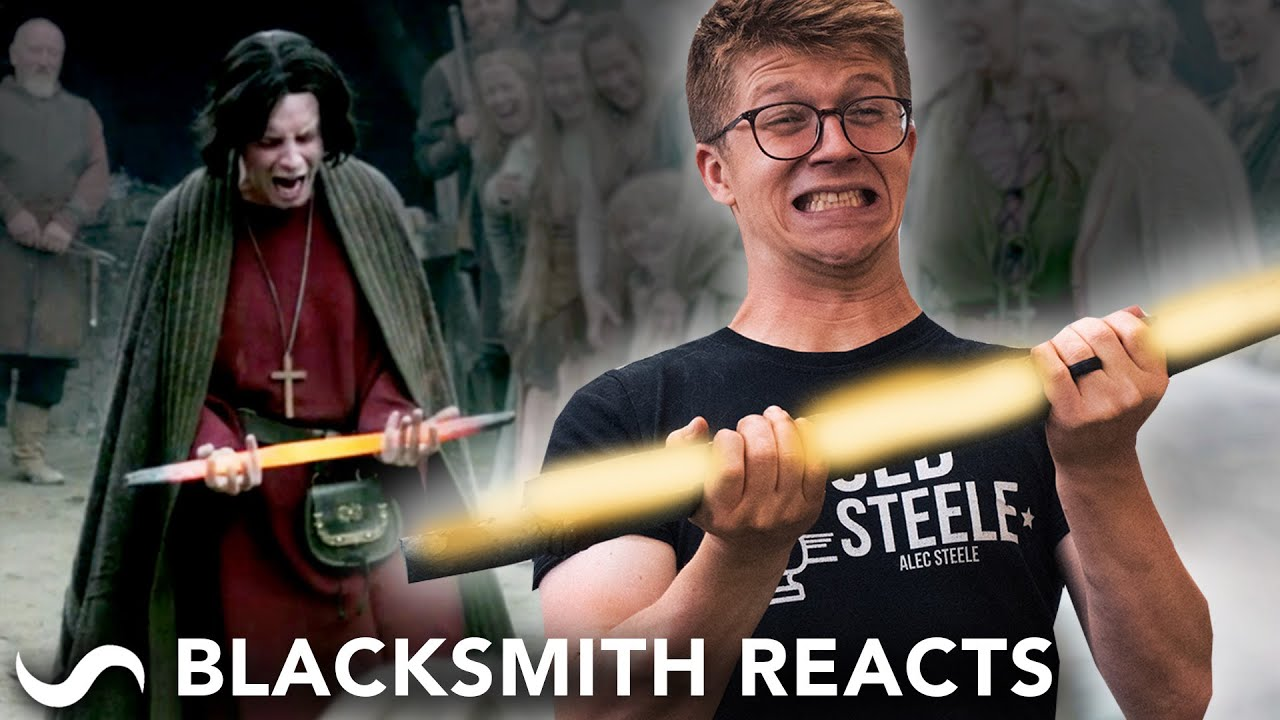 BLACKSMITH REACTS TO FORGING IN FILM AND TV!!!