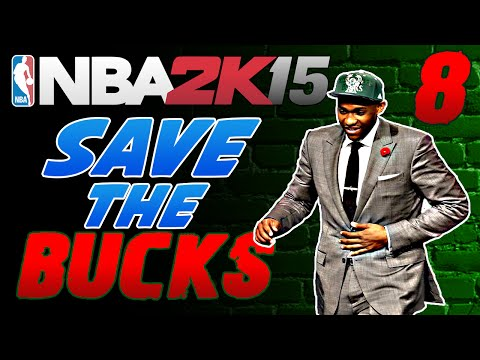BLOCKBUSTER TRADE - 1080p 60fps NBA 2k15 MyGM Milwaukee Bucks #8