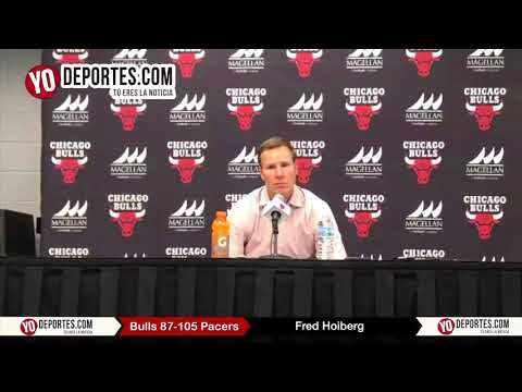 Fred Hoiberg Chicago Bulls 87-105 Indiana Pacers