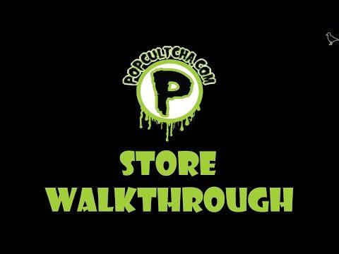 Popcultcha Supastore Walkthrough, Geelong, Victoria, Australia | Birdpoo Reviews