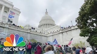 World Reacts To Pro-Trump Rioters Storming U.S. Capitol Over Baseless Election Claims | NBC News NOW