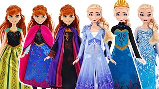 Frozen2 Fashion Set! Let's change into Pretty clothes with Elsa & Anna~   PinkyPopTOY