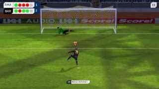 Dream league soccer Fc barcelona vs Real madrid