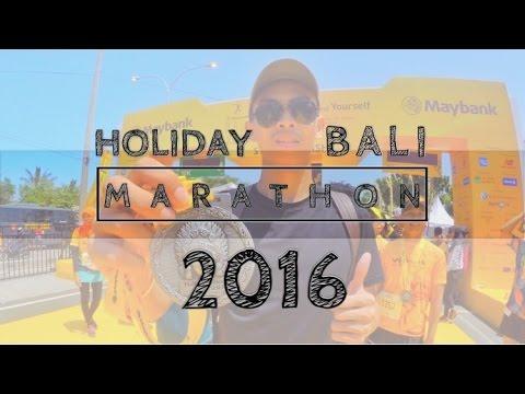 HiVLOG #10: HOLIDAY | BALI MARATHON 2016 (Indonesia) | Rasakan Sensasi Lari di Bali
