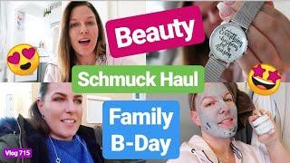 Familyday & Geburtstag l Beauty l Schmuck Haul l Vlog 715