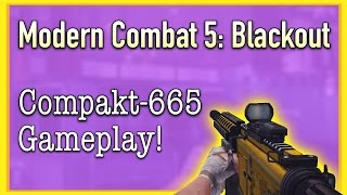 Compakt-665 Pro Gameplay! | Modern Combat 5: Blackout (14)
