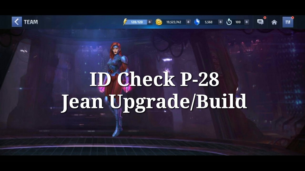 Jean Grey All Upgrade/Build - YouTube