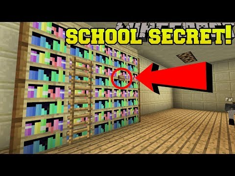 Minecraft: SCHOOL SECRET! - EASTER BUNNY'S BUTTONS - Custom Map