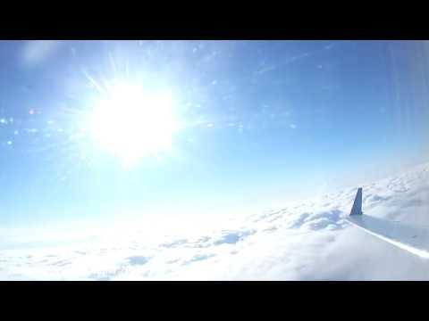 Взлет самолета Новый Уренгой 2019