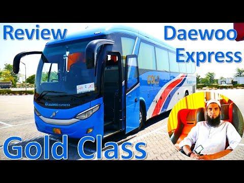 Travel Log 6 : Review of Daewoo Gold Class | Business Class Bus Service
