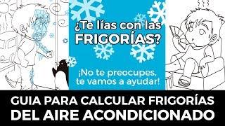 Calcular Frigorías Aire Acondicionado por Metro Cuadrado y por Metro Cúbico ❄️