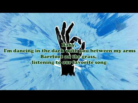 Ed Sheeran - Perfect (add Video Lyric) Youtube.