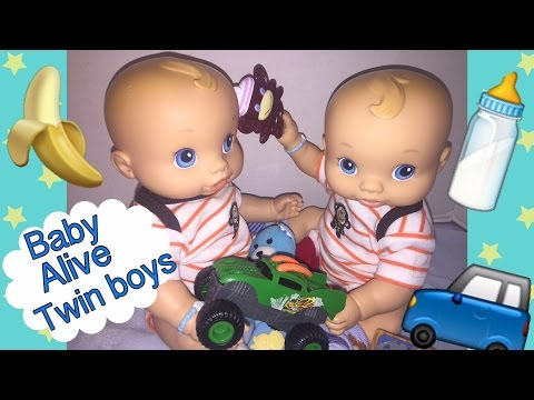 Baby Alive Boy Wets N Wiggles Boys Twins 3 Month Old Do