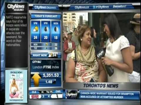 Saphia Khambalia and Doors Open 2012 at CityTV