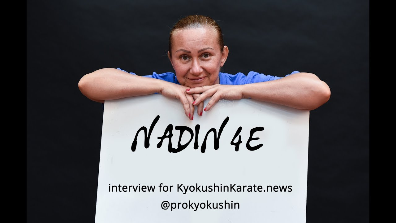 Nadia Petrova: The main goal is one – to develop and popularize kyokushin  karate