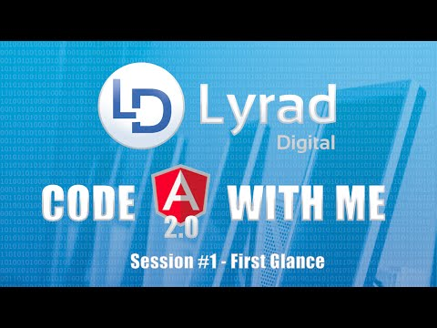 Code Angular2 With Me Session One - First Glance