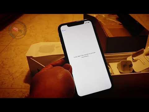 Unboxing IPhone 11 Black 128gb