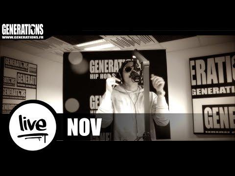 Nov  -Quand vient la nuit (Live des Studios de Generations)