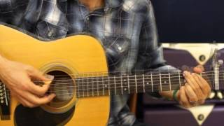 How To Play - Toby Keith - Made in America - Acoustic Guitar Lesson - Beginner