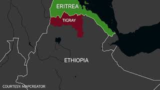 Which countries have stakes in Ethiopia's war?