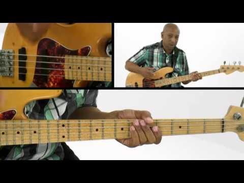 Reggae Bass Lesson - #7 Modern Triads - Andrew Ford