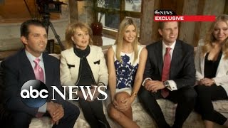 Donald Trump\'s Family Speaks Out on Presidential Run