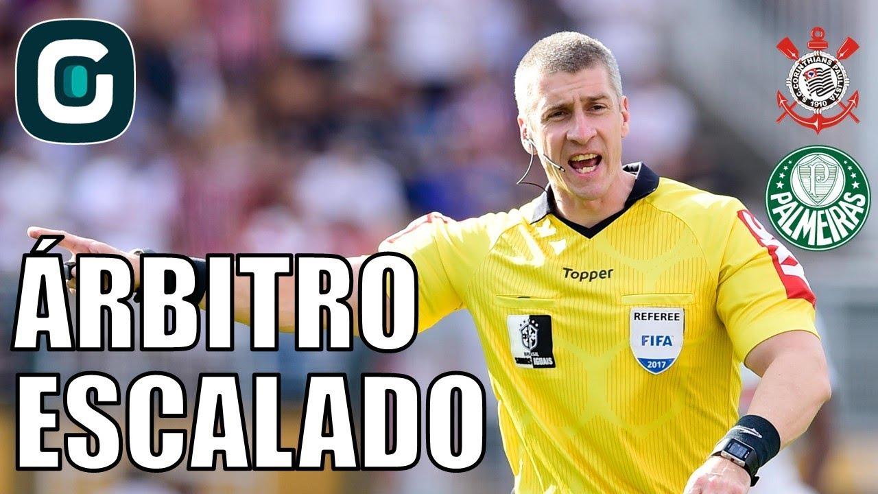 Anderson Daronco será juiz de Corinthians x Palmeiras- Gazeta Esportiva  (31 10 17) 728338abcdea2