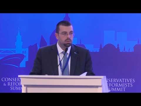 Keynote speech of Ahmed El Hariri Future Movement almustaqbal Lebanon at AECR Summit Antalya 2016