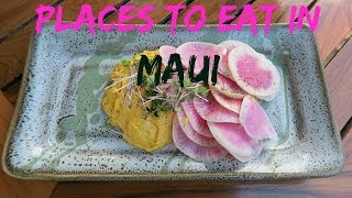 Places to Eat in Maui - Travel with Arianne - Travel, Food and Drink episode #4