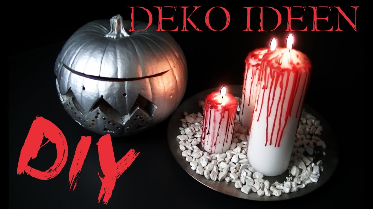 diy halloween deko ideen youtube. Black Bedroom Furniture Sets. Home Design Ideas