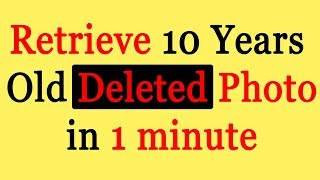 How to Recover Photos from Android | Works on Deleted Videos and Files too