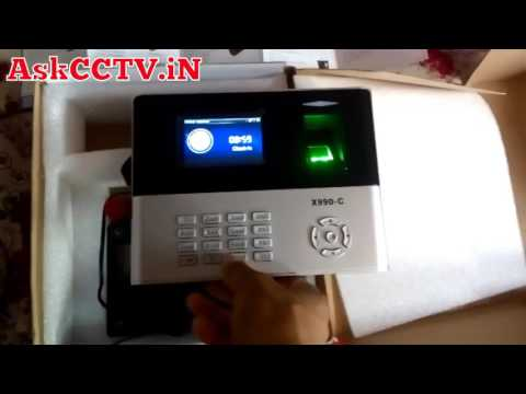 how to change date and time in essl biometric machine x990 in hindi
