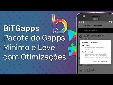 BiTGapps - Pacote Do Gapps Leve E Com Optimizações