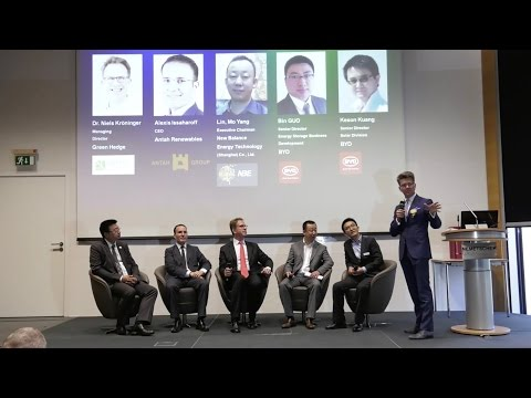 Clean Disruption Leaders: Executive Panel Discussion on Fully Sustainable Power Solutions