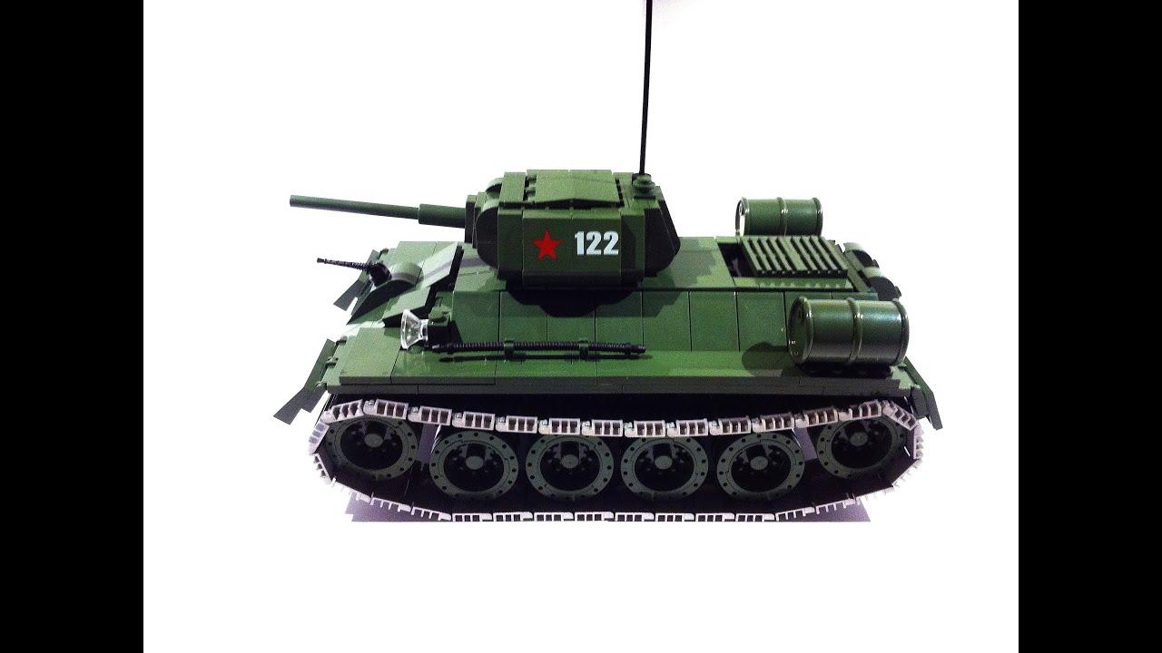 Cobi Wwii T-34  76 Medium Tank