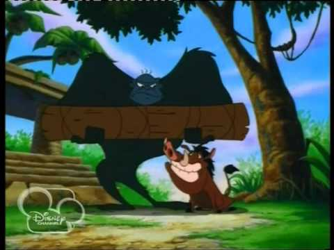 Disney Channel Middle East Timon and Pumbaa Series