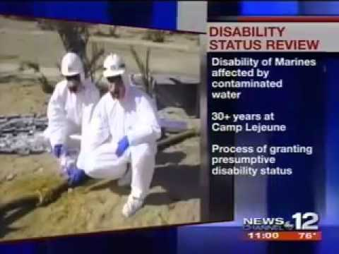 WCTI: VA to Give Disability Status to Veterans Poisoned by Camp Lejeune  Water
