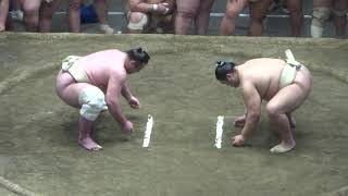 20180503 大相撲夏場所稽古総見 関脇 栃ノ心 調子いい.