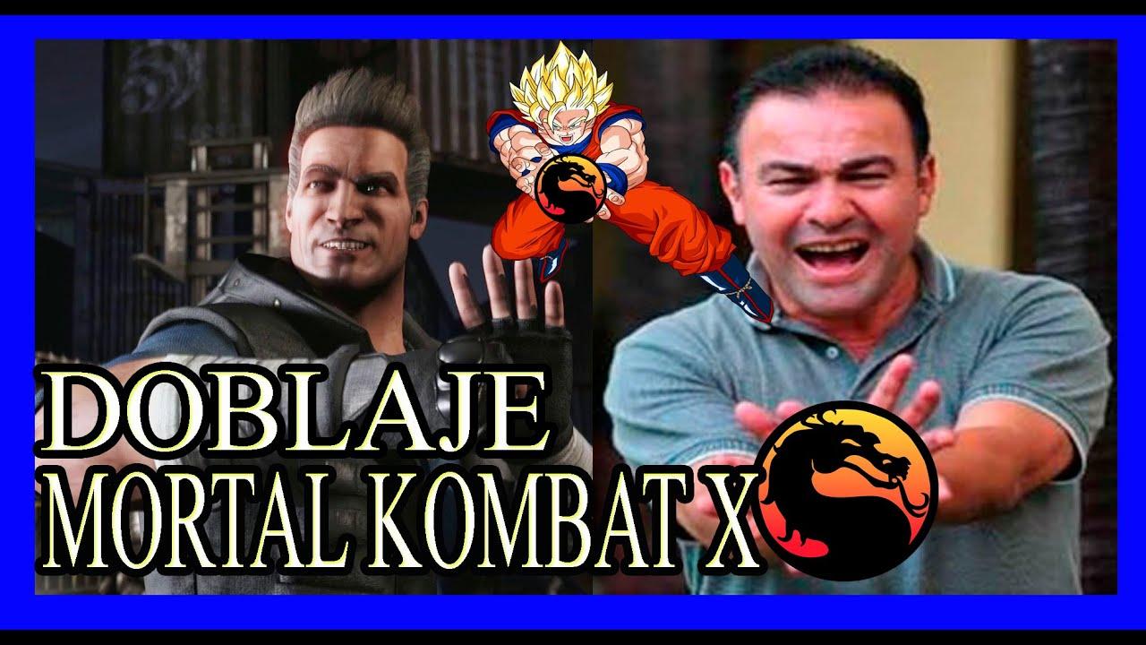 Voces Personajes y Actores de Doblaje Mortal Kombat X Español Latino
