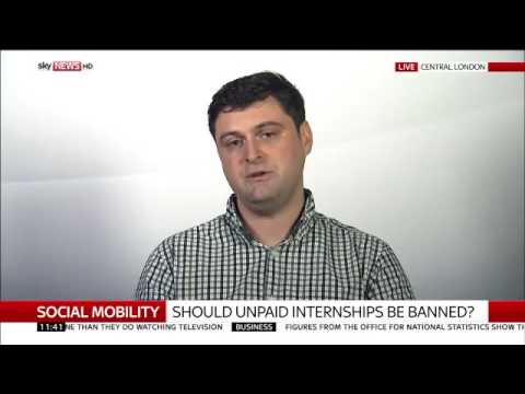 Social mobility: Should unpaid internships be banned?