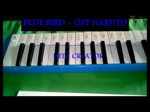 Pianika Blue Bird  - Ost Naruto ( cover )