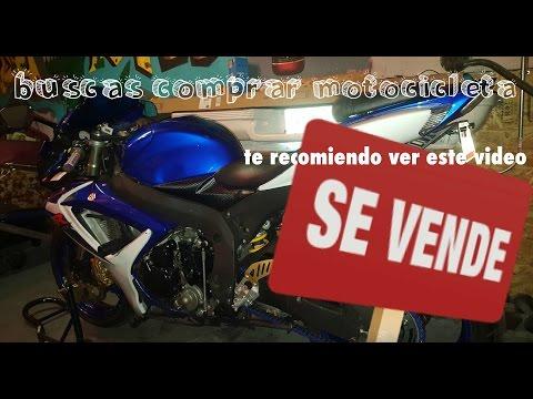 Requisitos para comprar una moto usada