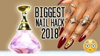2018's MUST HAVE DIY NAIL TOOL! GAME CHANGER!