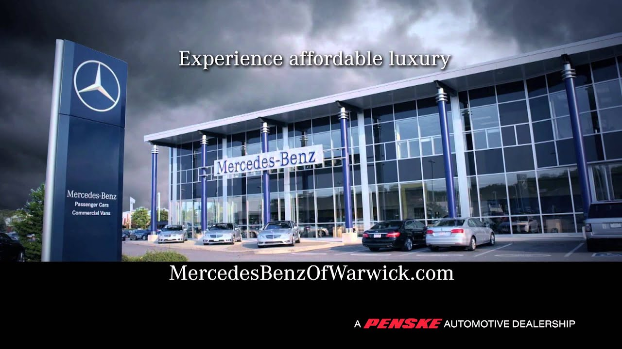 Mercedes Benz of Warwick - Affordable Luxury - YouTube