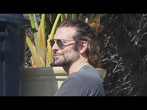 Bradley Cooper Sports a Ponytail While Hanging Out With Leonardo DiCaprio in Malibu