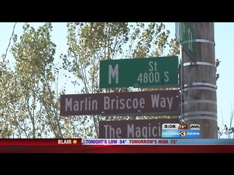 "Omaha Street Named after Marlin ""The Magician"" Briscoe"