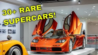 Ultimate Supercar Collection Tour | Exclusive Inside The Closed Petersen Museum